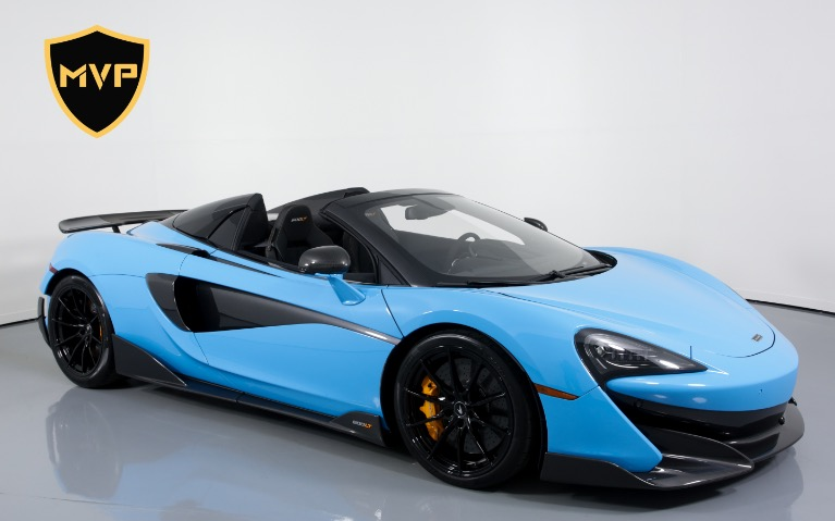 Used 2020 MCLAREN 600LT Spider for sale $1,299 at MVP Atlanta in Atlanta GA