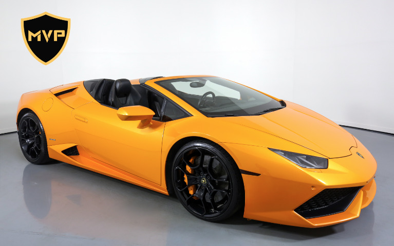 Used 2016 LAMBORGHINI HURACAN 610-4 SPYDER for sale $1,199 at MVP Atlanta in Atlanta GA