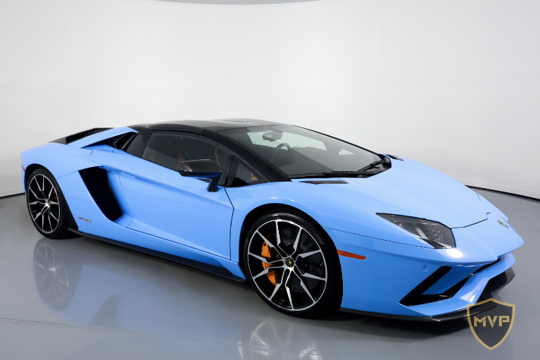 2018 LAMBORGHINI AVENTADOR for sale Sold at MVP Atlanta in Atlanta GA 30318 2