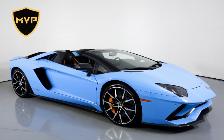 2018 LAMBORGHINI AVENTADOR for sale Sold at MVP Atlanta in Atlanta GA 30318 1