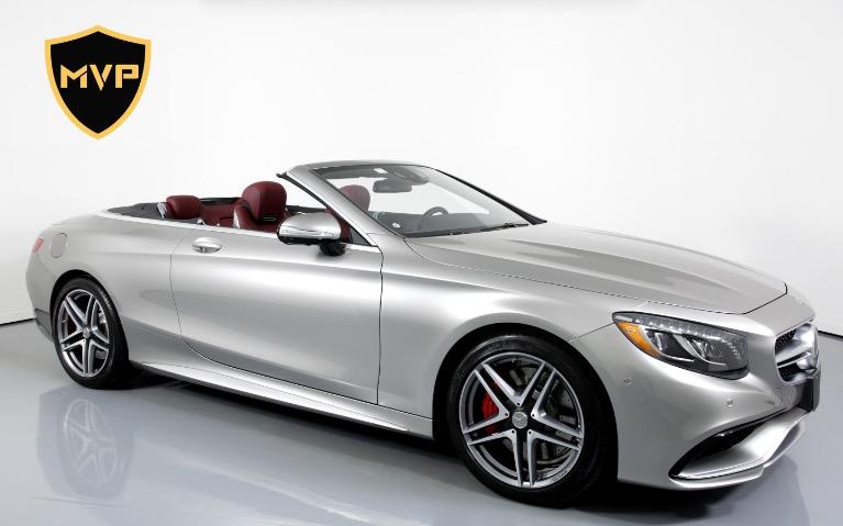 Used 2017 Mercedes-Benz S63 AMG CABRIOLET for sale $645 at MVP Atlanta in Atlanta GA