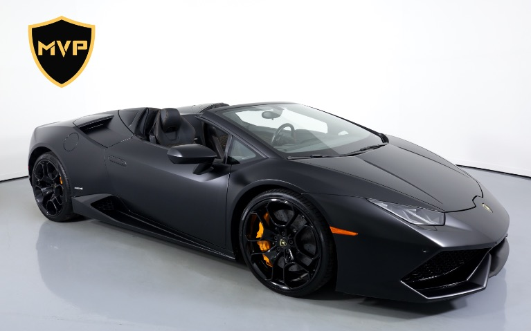 Used 2017 LAMBORGHINI HURACAN SPYDER for sale $1,199 at MVP Atlanta in Atlanta GA