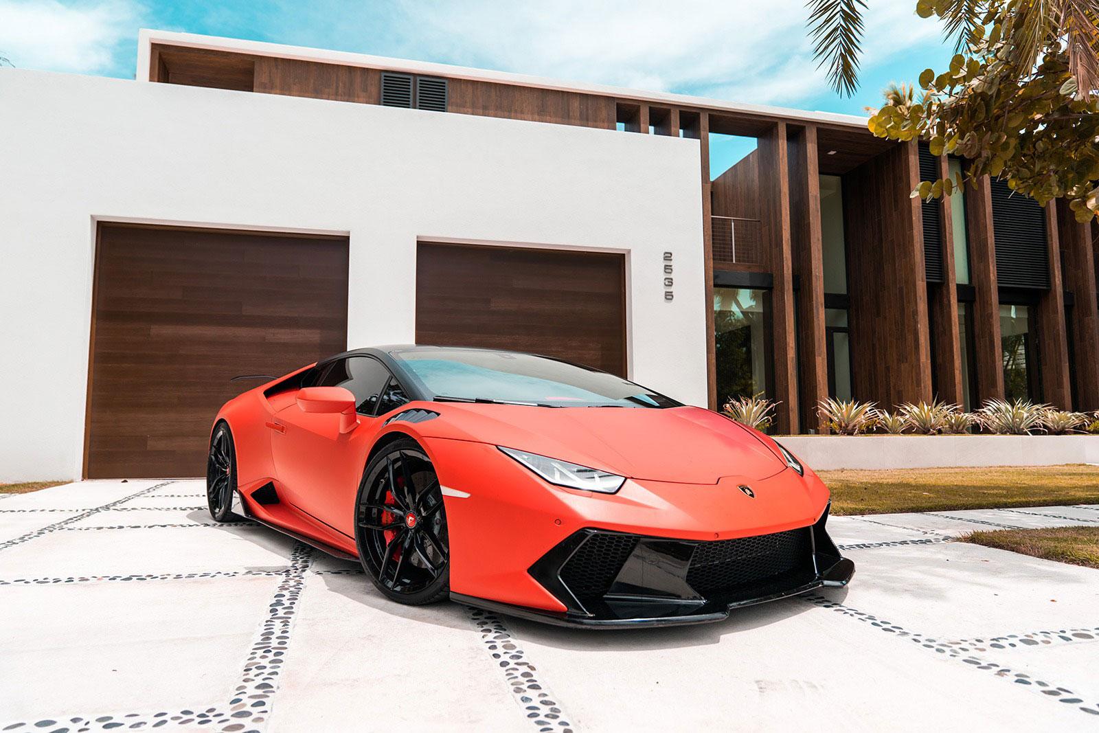 2017 Lamborghini Huracan Vorsteiner