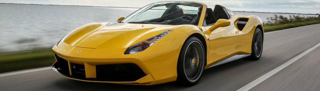 Rent a Ferrari at MVP Atlanta Rentals