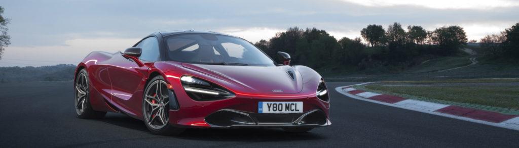 Rent a McLaren at MVP Atlanta Rentals